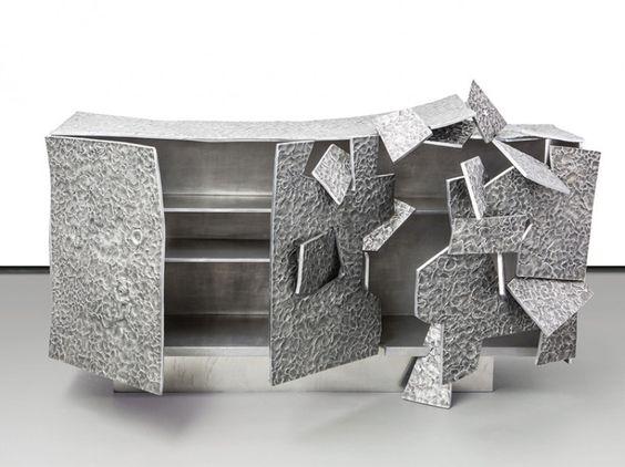 Commode Insideer Alu en aluminium, Vincent Dubourg, 2014, Carpenters Workshop Gallery