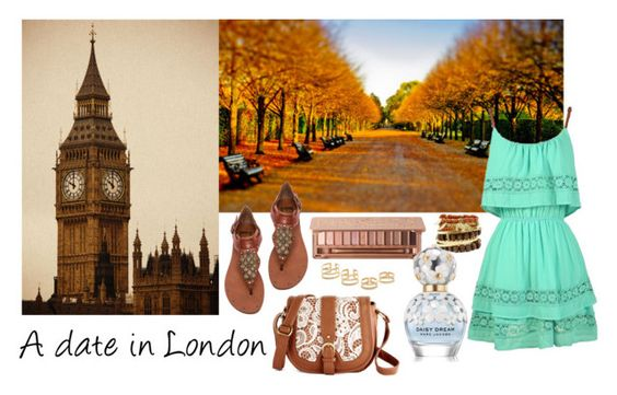 """#A Date In London"" by frejamnilsson ❤ liked on Polyvore featuring Dolce Vita, Urban Decay, Marc Jacobs, Jeweliq, BloggerStyle and London"