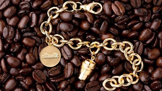 Coffee Cup Charm For Charity, by Altruette. Available at ahalife.com