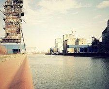 Hamburg/ Altona: Hafen