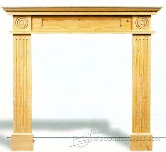 Build Fireplace Woodworking Plans and Projects WoodArchivist