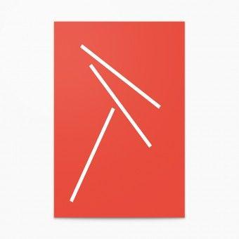 Falling Mikado #1 – Maximilian Heitsch, Poster (50 x 70cm)