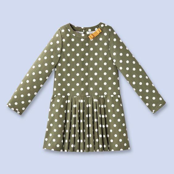 French polka dot dress. On sale.