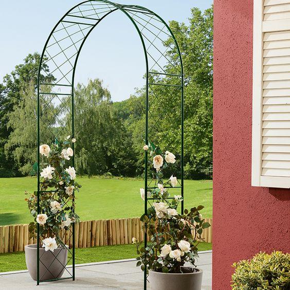 Mit Unserem Gardol Rosenbogen Verschonerst Du Jeden Garteneingang Garteneingang Garten Pflanzen Garten
