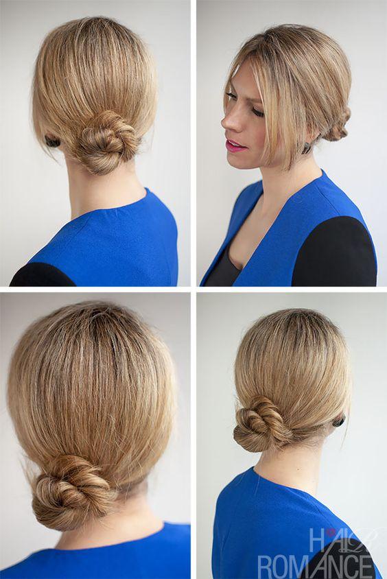 Astounding Hair Romance 30 Buns In 30 Days Day 3 Rope Braid Twist Bun Hairstyle Inspiration Daily Dogsangcom