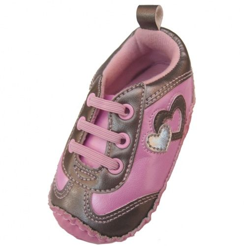 Sneaker with Hearts - $7 Infant Sneakers - Events http://www.totsy.com/invite/laurahewins_6065258/