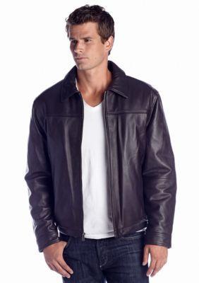 Boston Harbour  Bomber Leather Jacket