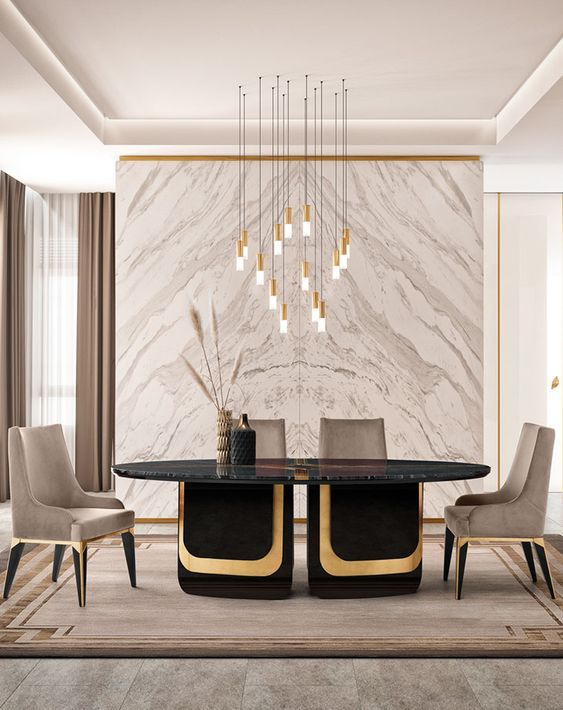 Modern Chair Ideas For A Luxury Dining Room In 2021 Luxury Dining Room Dining Room Contemporary Luxury Dining Tables Dining room design ideas 2021