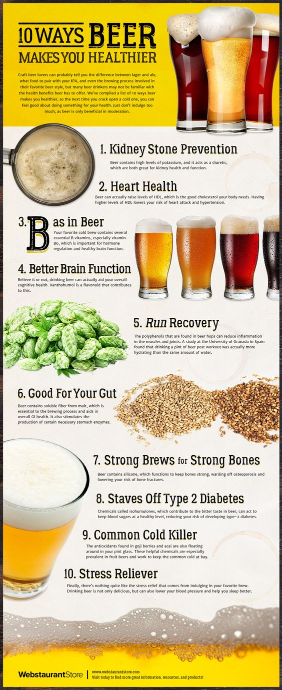 10 Ways Beer Makes You Healthier