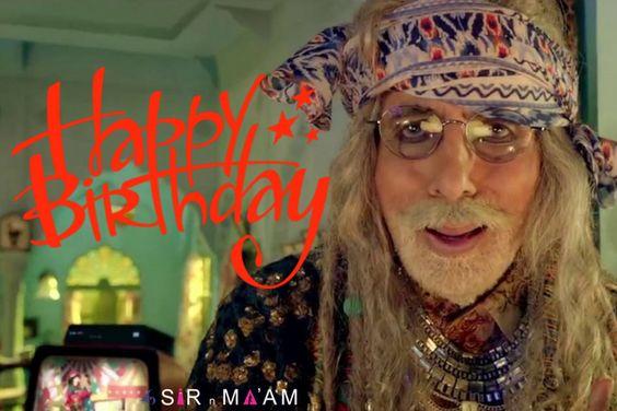 Sir N Maam wishes the Star of The Millennium Mr. Amitabh Bachchan a very Happy Birthday! #HappyBirthdayAmitabhBachchan #AmitabhBachchan #starofthemillennium