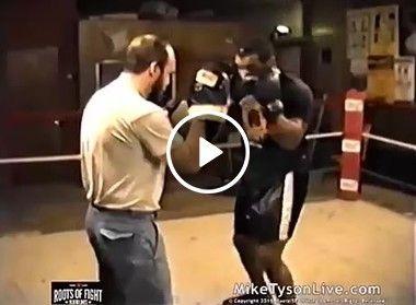 Treinando Mike Tyson!