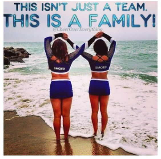 Cheerleading Friend Quotes: Not Just Cheerleaders But Sisters...Great Photo For Kay