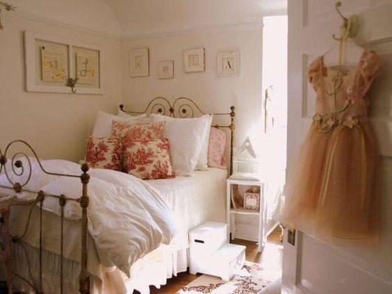little girls bedroom: Girl Room, Girlsroom, Kids Room, Girls Room, Girls Bedroom, Bedroom Design, Bed Frame