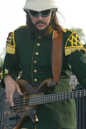 Les Claypool, the chief loon and bass player for Primus…who are still probably best remembered for the theme to South Park! Click on photo for more info!