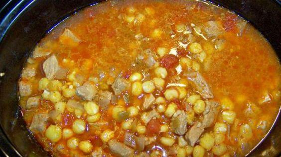New Mexico Style Posole - Crock Pot