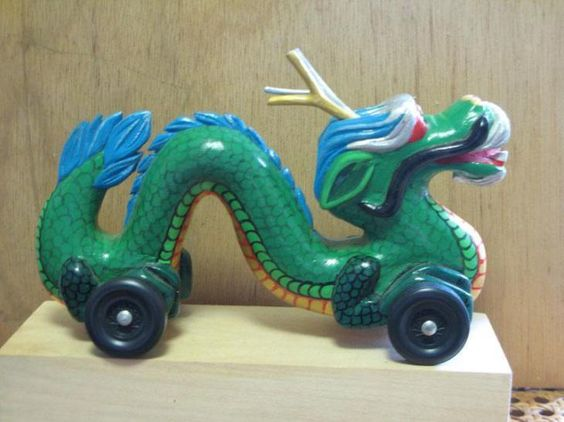 38 Creative Pinewood Derby Cars that will Impress You #chinese #dragon