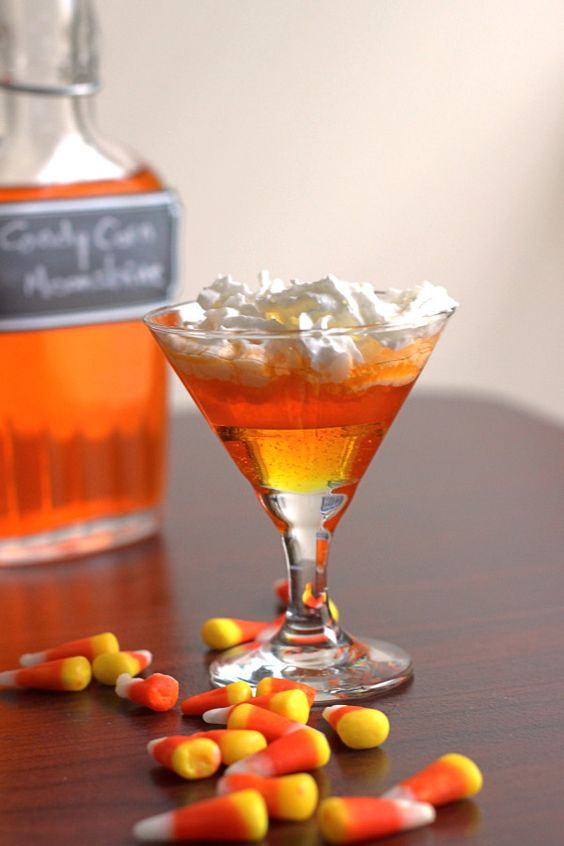 I've had a lot of requests to do a Candy Corn Vodka infusion, similar to Skittles Vodka. People love it for Halloween and fall tailgating. But since I also get a lot of questions about doing infusions with other liquors I decided to give moonshine a try. Specifically, Ole Smoky Tennessee Moonshine because it's a corn whiskey and that seemed fitting. Candy Corn Moonshine infusion This recipe will also work with vodka, and with Bacardi light rum (I've had less success doing infusions with…