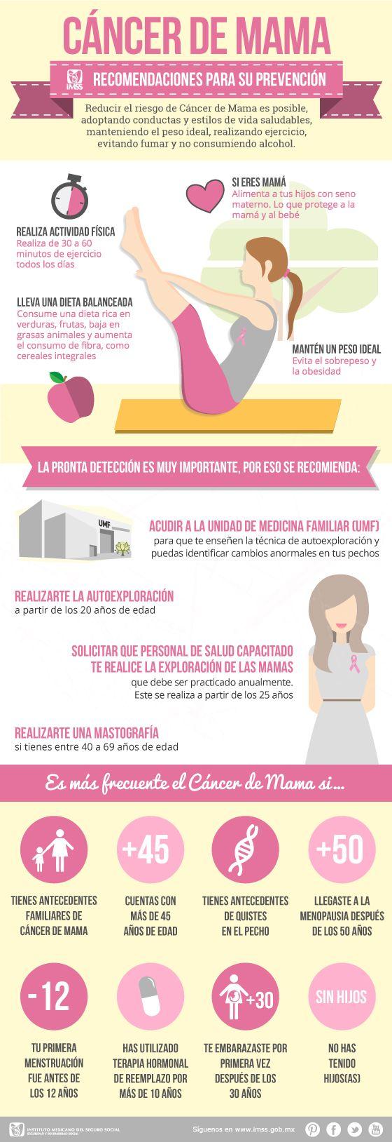 Salud and cancer on pinterest - Alimentos contra el cancer de mama ...