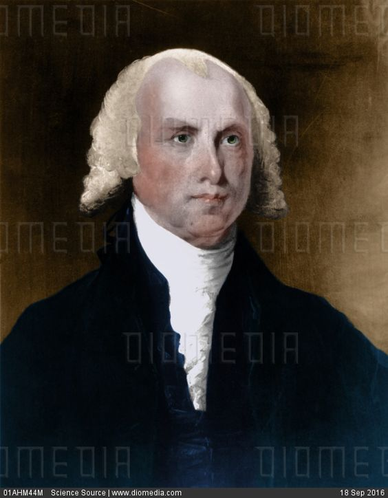 STOCK IMAGE - James Madison by www.DIOMEDIA.com