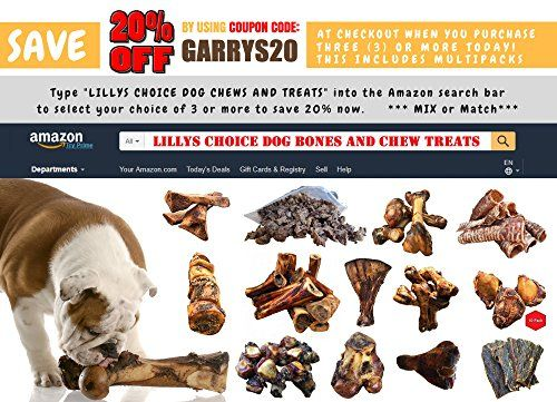 Lilly S Choice Dog Bones Grass Fed Made In Usa Natural Grain
