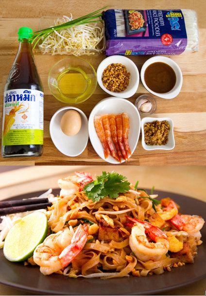 Receta de Pad Thai