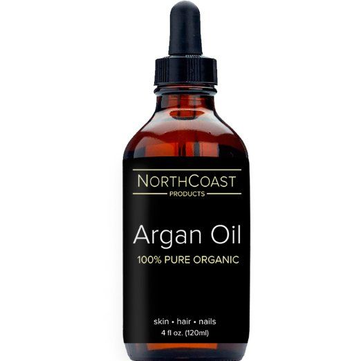 VIRGIN ARGAN OIL ★BIG 4oz (120ml) BOTTLE★ 100% Pure Organic Moroccan Argan Oil for Hair, Face, Skin, Nails and Feet. Natural Moisturizer, Rich in Vitamin E, Antioxidants & Fatty Acids for radiant, soft skin. Non-greasy, fast absorbing, best conditioner for dry hair to create a healthy, beautiful shine. Nourishes dry, damaged, acne-prone, or scarred skin. Certified by USDA & Ecocert. Unrefined - No Additives or Preservatives. PREMIUM GRADE - SATISFACTION ...
