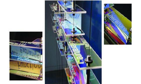 European Bioinformatics Institute - Etched dichroic glass