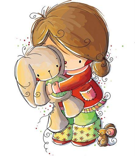 Imagenes bonitas de ni os y ni as imagenes y dibujos para - Dibujos de pared para ninos ...