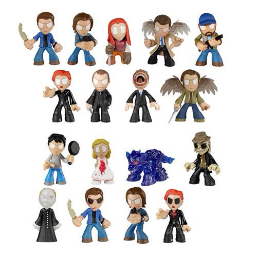 Spn mystery minis  Tbh I really want them all, especially demon Dean