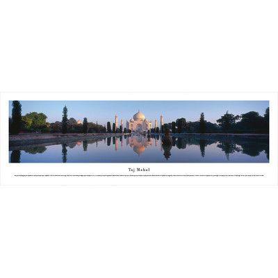 BlakewayPanoramas Icon Taj Mahal, India by Christopher Gjevre Photographic Print