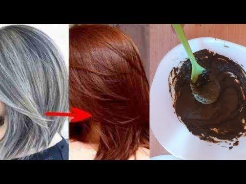 صبغة طبيعية باللون البني اللامع تغطي الشيب اقسم بالله من اول استعمال مقوية ومغذية للشعر Youtube Hair Henna