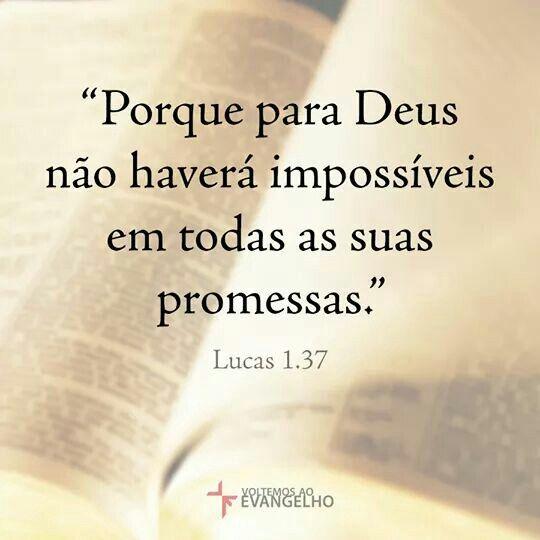 Deus é maravilhoso! ♡