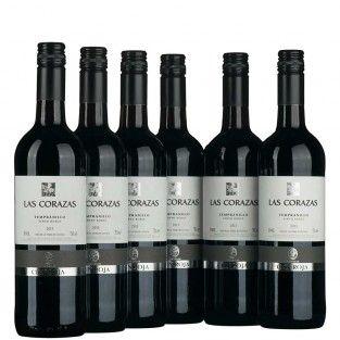 Paket-6x-Las-Corazas-Tempranillo-Tinto.Roble-VdT für 29,90 € bei vinoakvo.de - Sie kaufen Wein - Wir spenden Wasser - © vinoakvo 2016