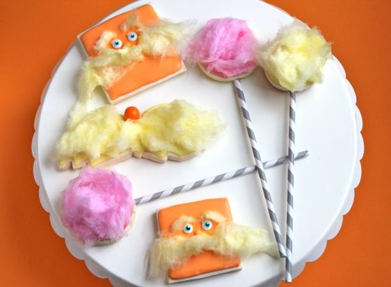 Lorax Decorated Cookies...so cute