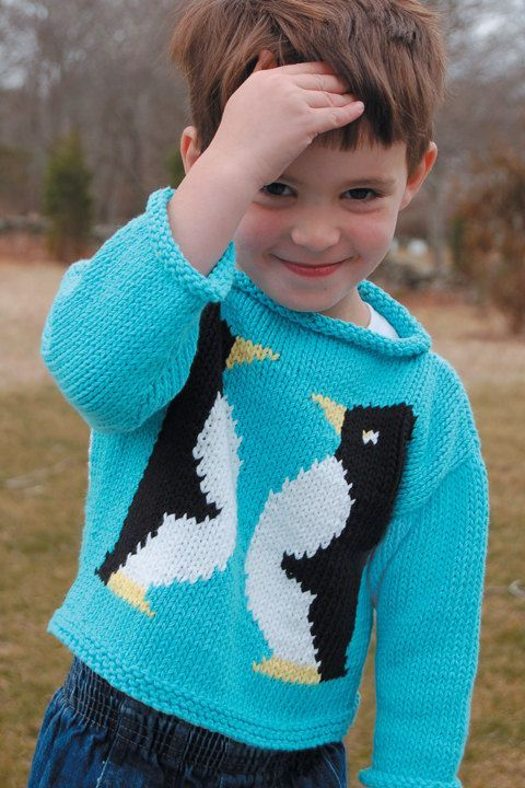 Knitting Sweaters For Penguins : Penguins pullover sweaters and knitting patterns on pinterest