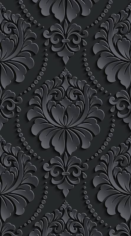 Black Pattern Pattern Wallpaper Art Wallpaper Iphone Abstract Iphone Wallpaper