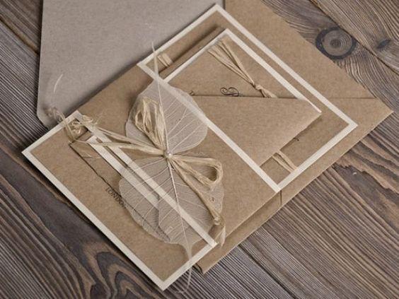 Une invitation originale, vintage et chic pour votre mariage Image: 3