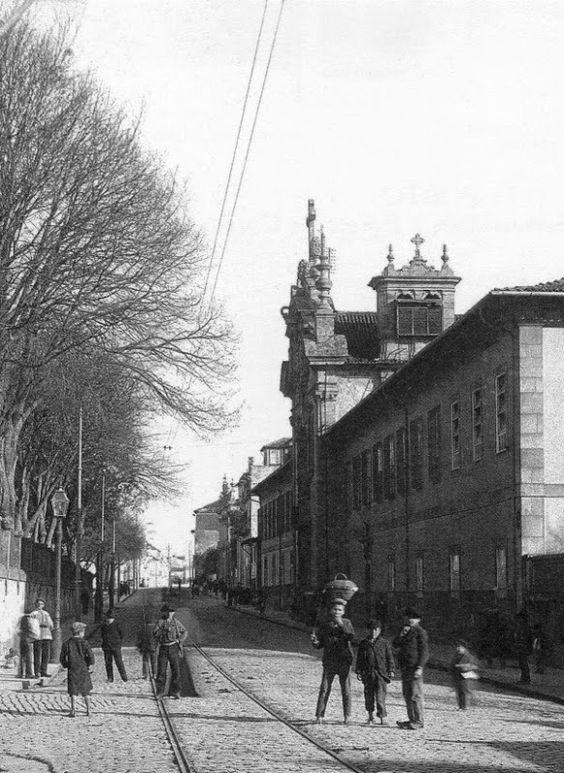 Porto Detalhe de Alberto Ferreira Jardim de S. Lázaro e Rua de S. Lázaro 1905. Vista junto à Rua das Fontaínhas