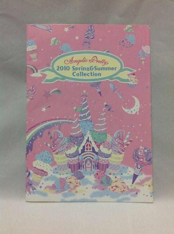 2010 Spring & Summer Collection (Brand Catalog, LOOK BOOK) from Angelic Pretty - Lolita Desu