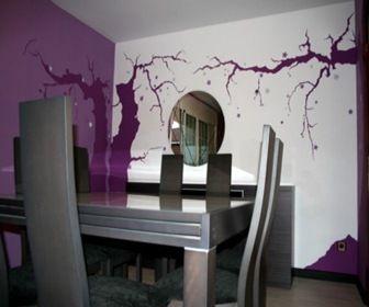 Pintura on pinterest - Decoracion de paredes interiores ...