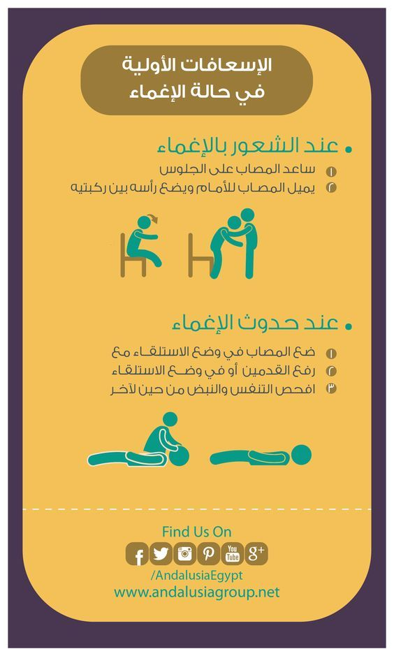 الاسعافات الأولية في حالات الاغماء Medical Services Medical Emergency Medicine