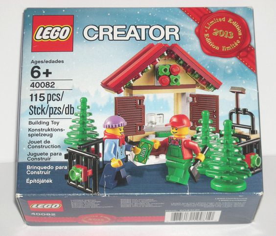 LEGO 40082 CITY CHRISTMAS TREE STAND 40082 #LEGO