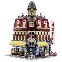 Lego Cafe Corner - riesiges Set, nix für Kinder und wiegt auch nur 2,6 Kilo! #lego