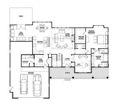 Ranch Style House Plan 3 Beds 2 5 Baths 3588 Sq Ft Plan 928 2 Floor Plans Ranch Ranch House Floor Plans Basement House Plans Open concept ranch house plans with basement