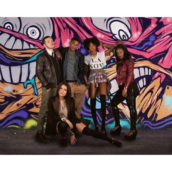 """Urban Chic""models: Sabrina Morciglio, Nick Morciglio, Cleveland Robinson, Fatou Sangare, and Lashawna Westmoreland. #CazFashionShow"