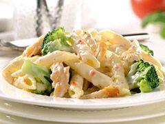 Cheesy Pasta with Chicken & Broccoli : Healthy Pasta Recipes