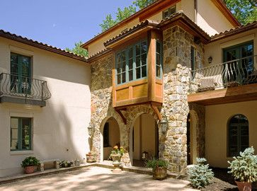 italian style home elevations - house design plans