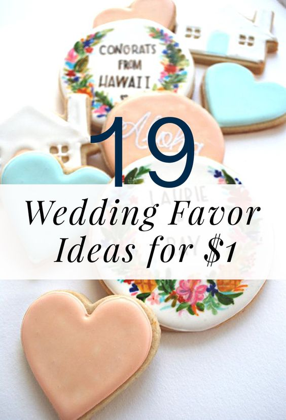 19 Wedding Favor Ideas you can tackle for around a buck each ;)