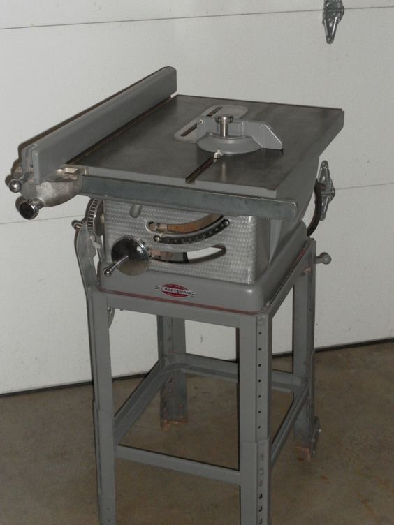 Craftsman Table Saw Table Saw And Old School On Pinterest