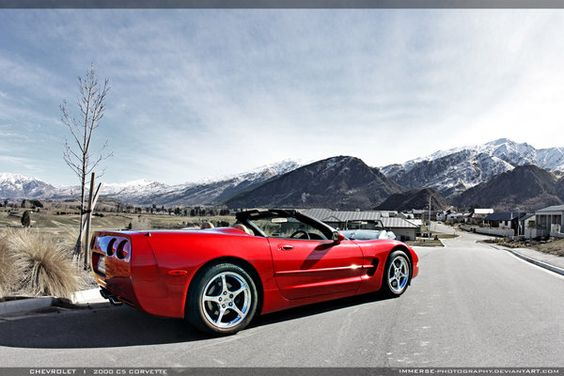Roadster in the Mountains